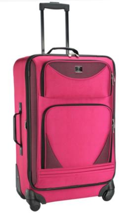 """2-Piece Expandable Spinner Set Luggage with 4 wheels 21"""" &"""