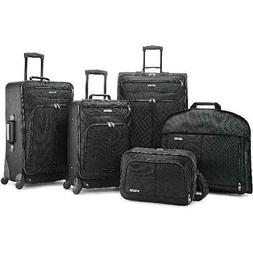 5 Piece Luggage Set Suitcase Carry On Pull Bag Travel With S
