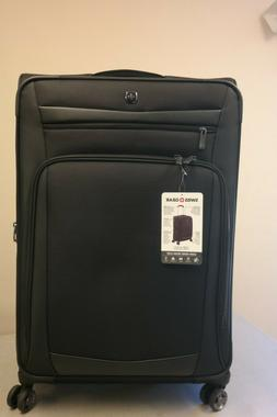 SWISSGEAR 7811 Expandable Spinner Luggage 3-Piece Set - Blac
