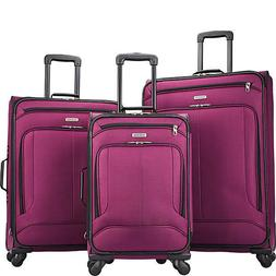 American Tourister Pop Max 3 Piece Expandable Spinner Luggag