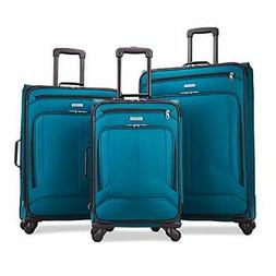 American Tourister Pop Max Softside Luggage with Spinner Whe
