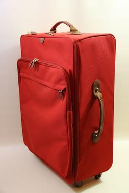 """Bric's 28"""" Spinner Luggage Bag  RED"""