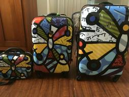Heys Britto - Butterfly - 3pc Spinner Luggage Set