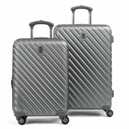 """2 PC Luggage Set by Travelpro 20"""" and 24"""" Hardside Spinner C"""
