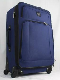 "SKYWAY EPIC SOFTSIDE 2 PC. SPINNER LUGGAGE SET 24"" 21"" NAVY"