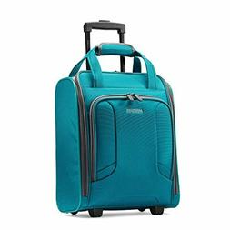 Expandable Soft side Luggage with Spinner Wheels, Teal,