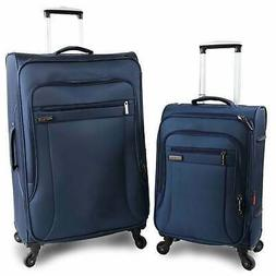 Perry Ellis Fortune 2-piece Spinner Luggage Set