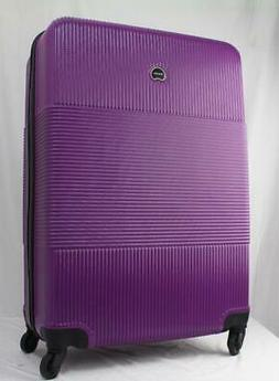DELSEY GROOVE DLX 3 PC. HARDSIDE SPINNER LUGGAGE SET FUSCHIA