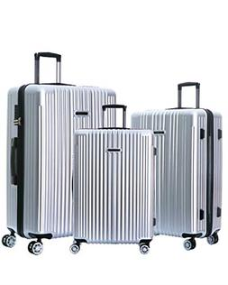 NaSaDen Hardshell Luggage Sets with Spinner Wheels Checked a