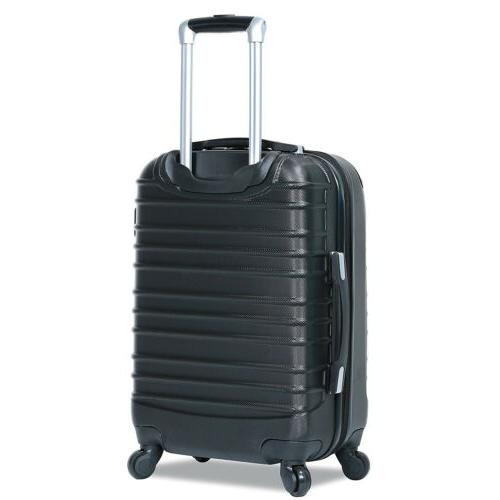 Dejuno 3 Piece Luggage Sets Spinner Wheels Lightweight Expandable Hard