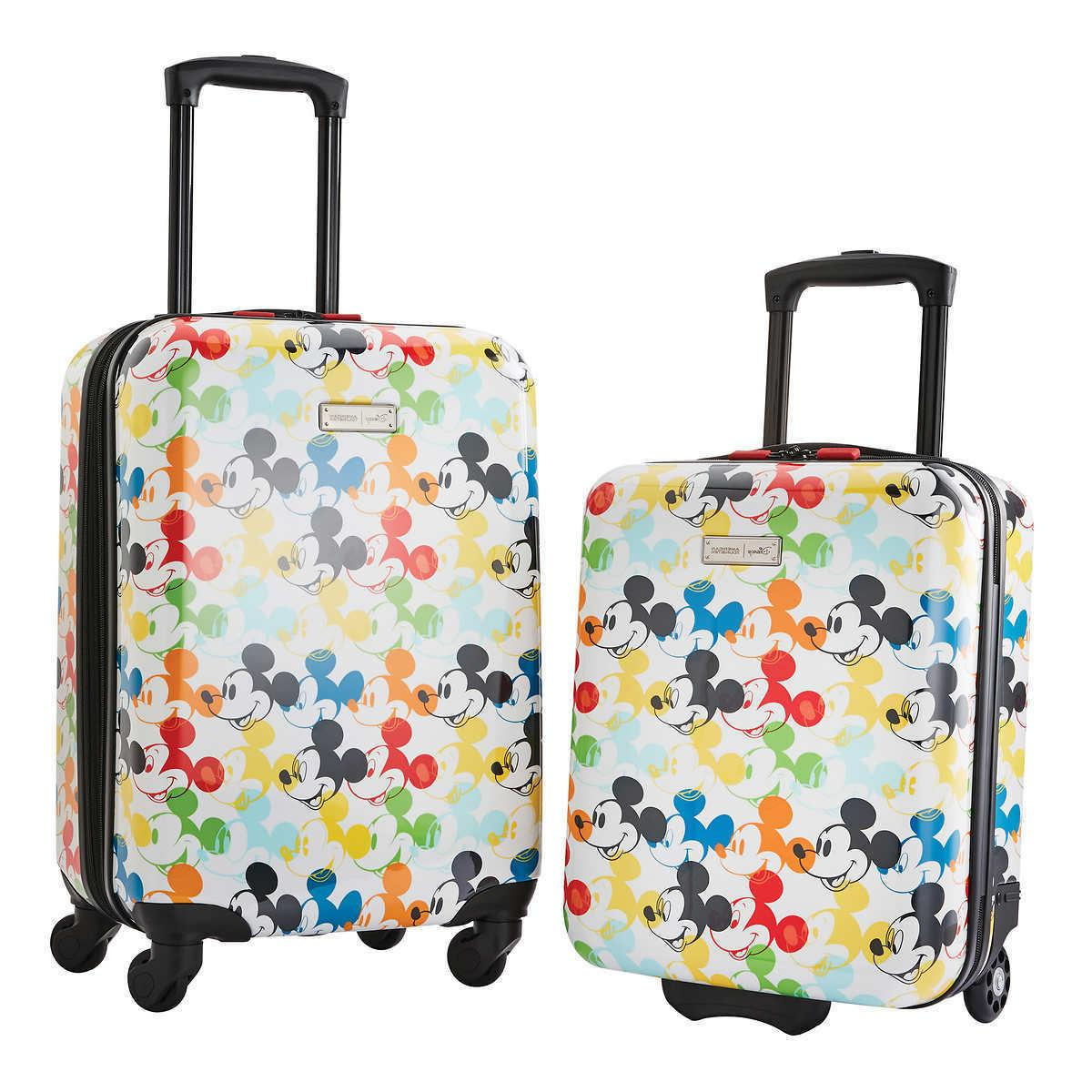american tourister 2 piece hardside carry on