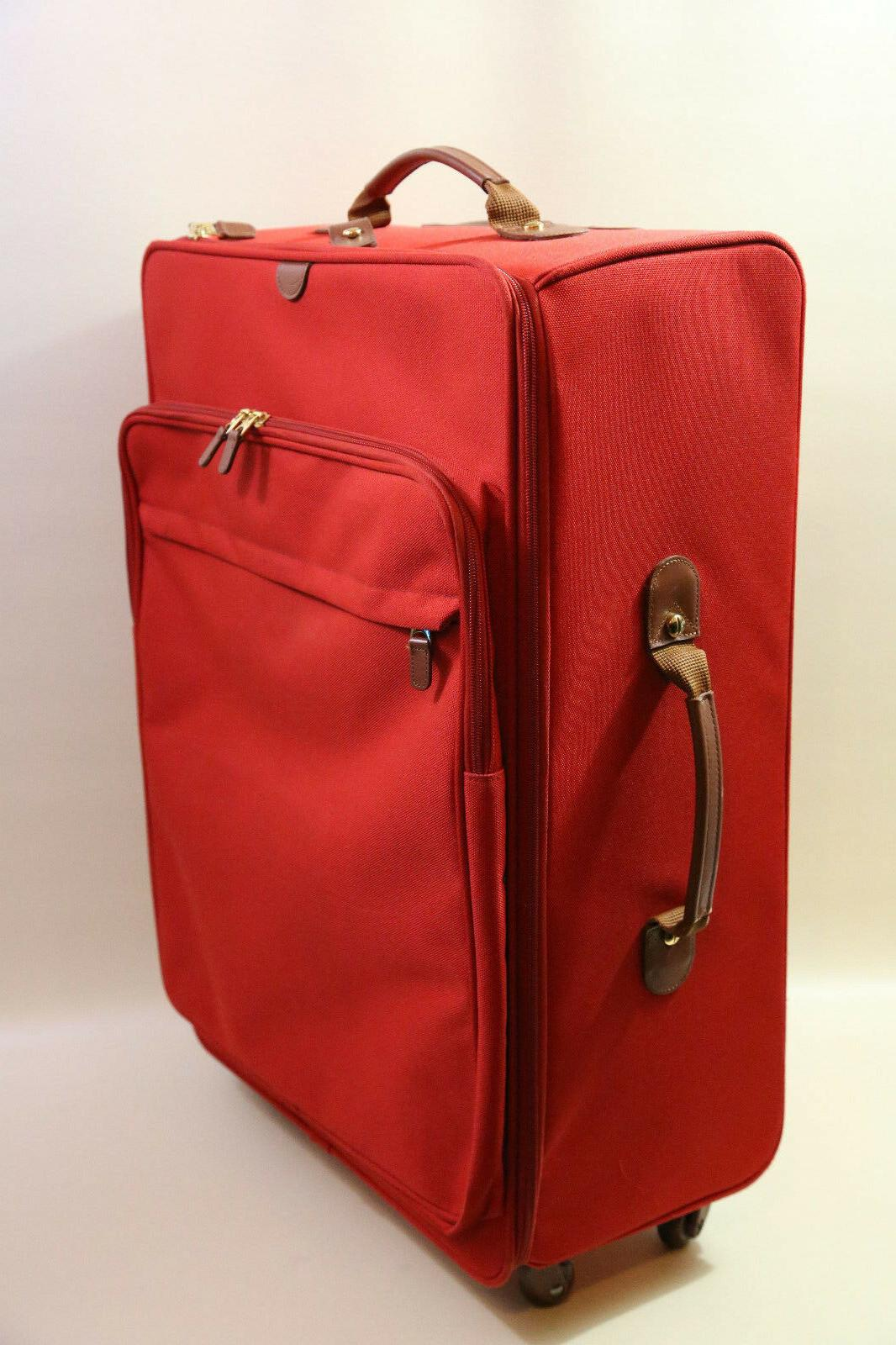 bric s 28 spinner luggage bag red