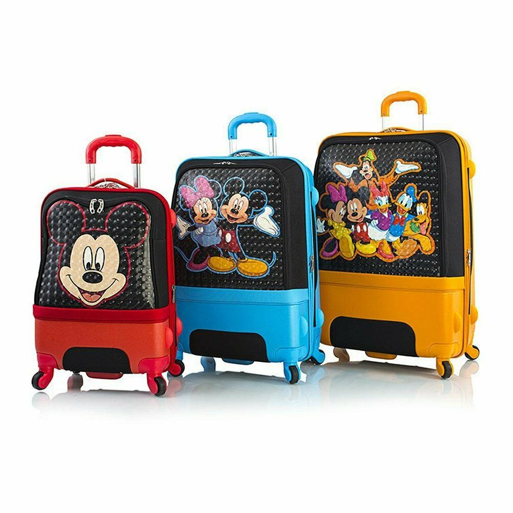 clubhouse hybrid soft side spinner luggage suitcase
