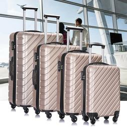 Luggage Set Travel Bag Trolley Spinner ABS Business Hard She