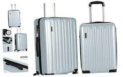 Luggage Sets 2 Piece Hard Shell with Spinner Wheels