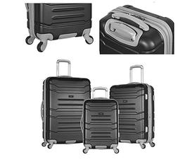 Luxury Olympia USA Monaco Expandable Spinner Set with Hidden