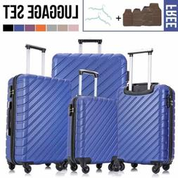 Nested 4-Piece Set Hardside Luggage with Spinner Wheels Carr