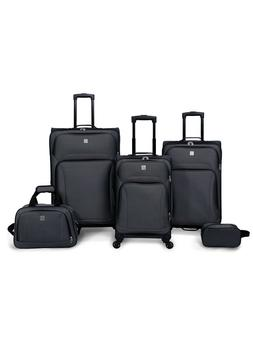 New 5-Piece Premium Expandable  Spinner Luggage Travel Set w