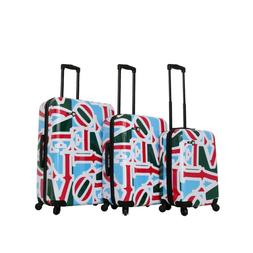 New Mia Toro Italy-Love Collection Hard Side Spinner Luggage
