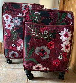 NEW WITH TAGS: Vera Bradley Spinner Luggage Set inBordeaux