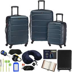Samsonite Omni Hardside Nested Luggage Spinner Set, Teal w/