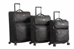 Lucas Ultra Lightweight 3 Piece Expandable Suitcase Set With