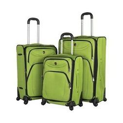 Travelers Club Unisex  3-Piece D-Luxe 360 Spinner Luggage Se