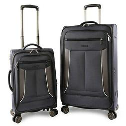Perry Ellis Viceroy 2-pc Spinner Expandable Luggage Set, Nav