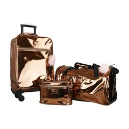 VUE Metallic Collection Premium Carry On 3pc Luggage Set 207